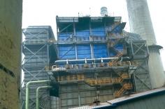 唐山燕山钢铁有限公司烧结二厂烧结机湿电除湿器.
