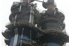 燕钢流化床燃煤锅炉脱硫系统湿式电除尘器