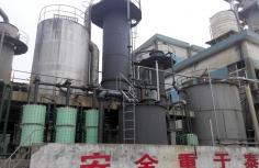 镇江亚中精制硫酸装置